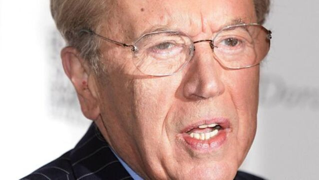 Stars bid farewell to broadcaster David Frost