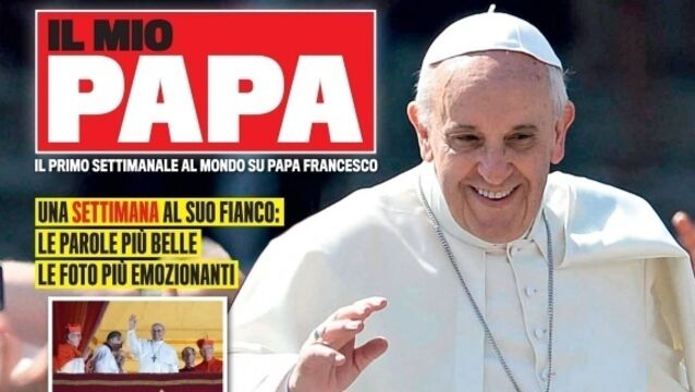 Weekly magazine dedicated to Pope launched