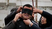 Iranian killer spared from death as victim's mother prevents execution
