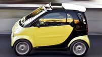 QUIRKY WORLD ... San Fran cops investigate Smart car flipping spree