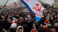 Rebels appeal to join Russia after self-rule referendum
