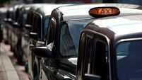 London cabbies protest over unregulated taxis