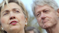 Clintons were 'dead broke' after White House