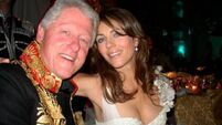 Liz Hurley dismisses Clinton affair claims