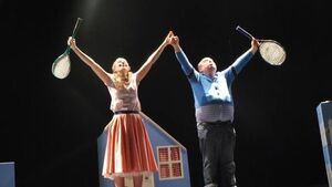 Critically acclaimed quirks of Fred and Alice prove endearing hit