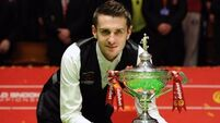World champ Selby dedicates title to late father