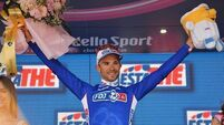 Bouhanni takes third Giro d'Italia stage win