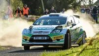 Moffett in tune-up for Rallyof Lakes
