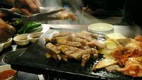 Week 12: Leaving a man behind in Seoul, a broken jaw and a bit of samgyeopsal