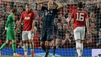 Robben frustrated by  United's defensive approach