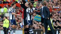 Baggies play down dressing room row