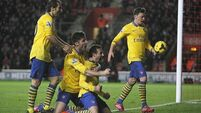 Old failings leave Arsenal hanging on