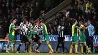 Canaries hold marauding Magpies