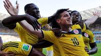 Colombia coach wants players to stay focused