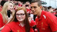 Reds star Agger gets inked in Limerick