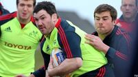 Varley: Munster is our only focus