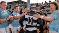 Garryowen  spoil party for  Belvo