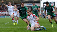 Ulster take out frustration on Connacht