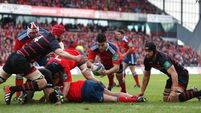 Murray says  Munster have learned from  video nasty