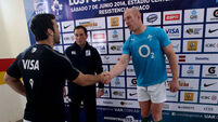 Test ref Jackson lined out for Highfield in AIL