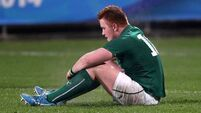 Irish crack under England pressure