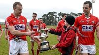 Hayes' strike  decisive  for determined Cork