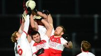 Dogged Derry rally  to peg back   Tyrone
