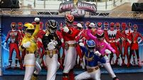 Online and in the shops: The Power Rangers
