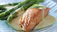 Maggie Beer's Salmon with Sorrel Butter