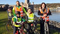 Young brothers organise cycle to honour granddad