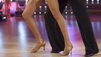 Woman claims she slipped on dancing powder