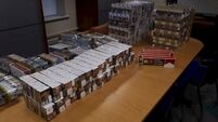 Gardaí seize 34,000 illegally imported cigarettes in Longford