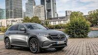Mercedes spark into life in electric segment