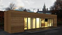 See Ireland's first shipping container home
