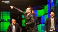 Bono draws curtain on RDS