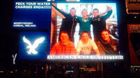 Enda gets the message on water charges as Time Square catches protest bug