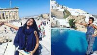 This woman went on honeymoon without her husband - and the photos are brilliant