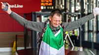 Ireland's 'Forrest Gump' home after run around world