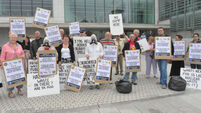 Waste depot campaigners take protest to City Hall
