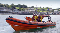 'Great day' for fishing village as trial lifeboat service launched
