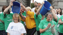 MND prof takes the ice bucket challenge