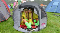 Eccentric Picnic weather confuses 40,000 reveller