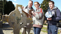 Visitor plan for historic graves