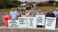 Residents to block access to waste plant