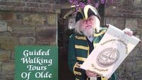 Former Coast Guard officer turns town crier