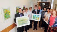 Art to inspire hospital patients