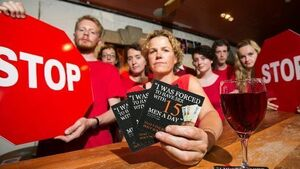Beer mat campaign targets sextrafficking