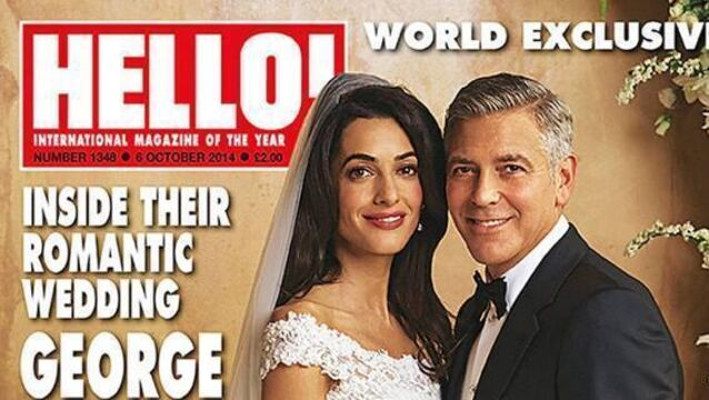 George: Being Mr and Mrs Clooney feels  damn great
