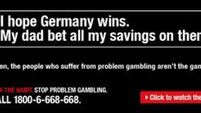QUIRKY WORLD ... Singapore's anti-gambling ad backfires after Germany strikes World Cup gold