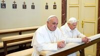Vatican prays Pope stays up for World Cup final